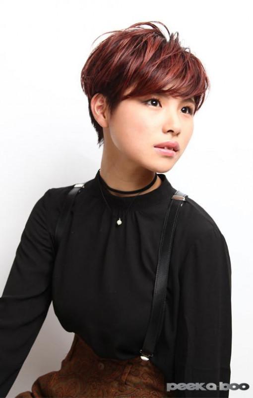 マホガニーレッドカラー PEEK-A-BOO 竹本桂史