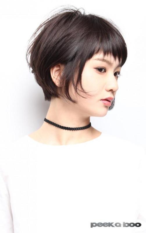 ツルサラショートボブ PEEK-A-BOO 小野泰輔